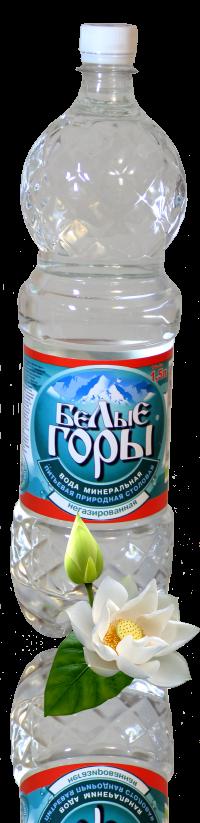 Вода минеральная «Белые Горы» негазированная объем (ПЭТ) 1,5 л