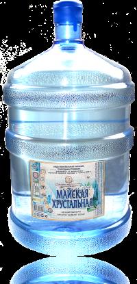 Вода негазированная (ПЭТ) объем 19 л