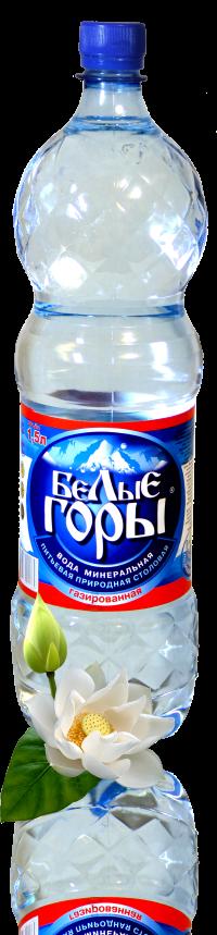 Вода минеральная «Белые Горы» газированная объем (ПЭТ) 1,5 л