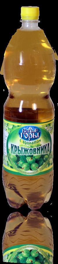 Напиток «С ароматом крыжовника» объем (ПЭТ) 1,5 л