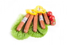 Kолбаски полукопченые «Егерьские»