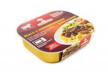 Мясо с макаронными изделиями
